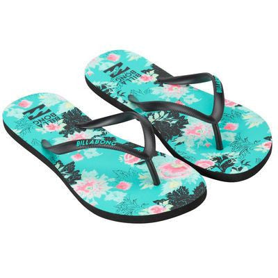 Billabong Dama Sandals - Jade - Surf' in Monkeys School & Shop