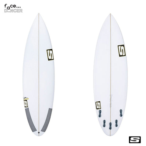 Simon Anderson Face Dancer Surfboard - Surf' in Monkeys School & Shop