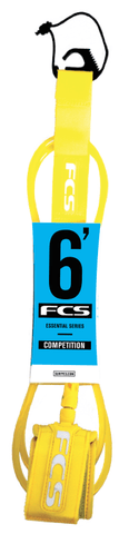 FCS ft6 Leash Comp - 5.5mm - Surf' in Monkeys School & Shop