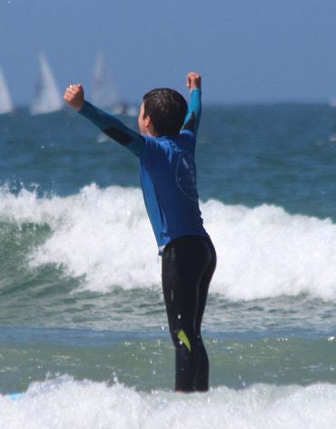 5 Surf Classes Package with Personal Trainer - Surf' in Monkeys School & Shop
