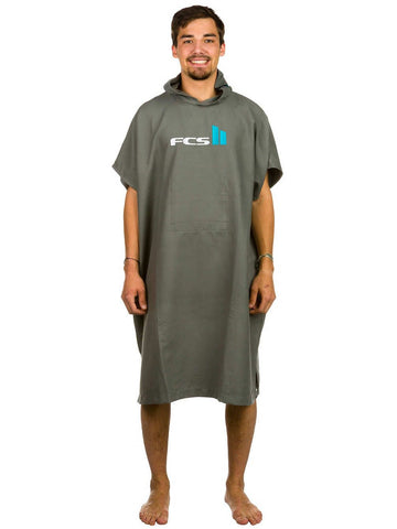 FCS Poncho Chamois - Grey - Surf' in Monkeys School & Shop