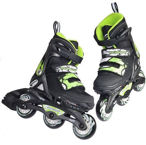 Rollerblade Spitfire SL Boys - Black/Green - Surf' in Monkeys School & Shop