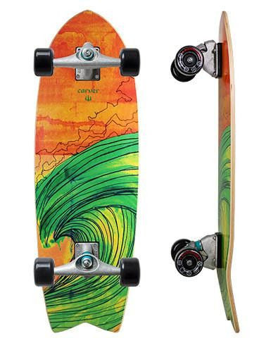 "Carver Skateboards 29"" Swallow - Surf' in Monkeys School & Shop"