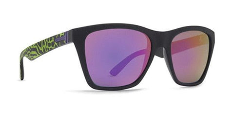 Vonzipper Booker Sunglasses - Party Animals/Lime Meteor Glo - Surf' in Monkeys School & Shop