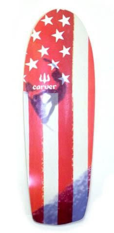 "Carver 30.5"" Amber Flag Deck - Surf' in Monkeys School & Shop"