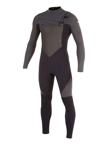 Quiksilver Men Wetsuit Syncro GBS 4/3 Chest Zip - Black/Graphite - Surf' in Monkeys School & Shop