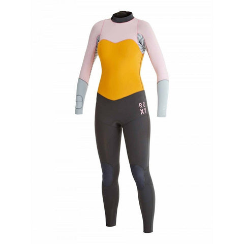 Roxy Women Wetsuit XY 4/3 Steamer - Light Orchid/Fog Blue - Surf' in Monkeys School & Shop