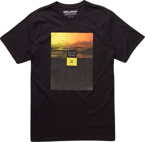 Billabong  Witness Ss Tee - Black - Surf' in Monkeys School & Shop