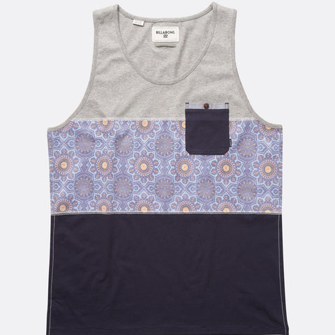 Billabong Tribong Tank Top - Grey Heather - Surf' in Monkeys School & Shop