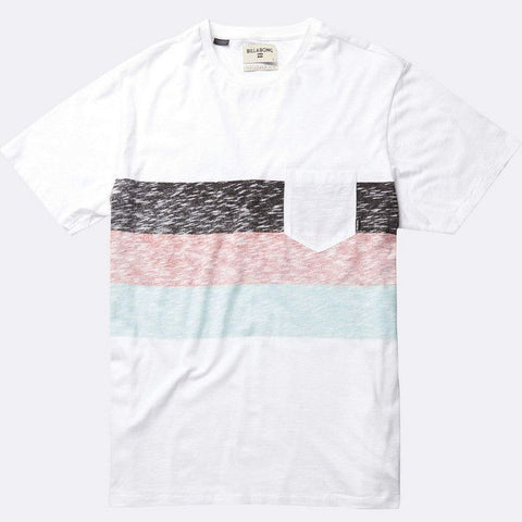 Billabong Momentum T-shirt - White - Surf' in Monkeys School & Shop