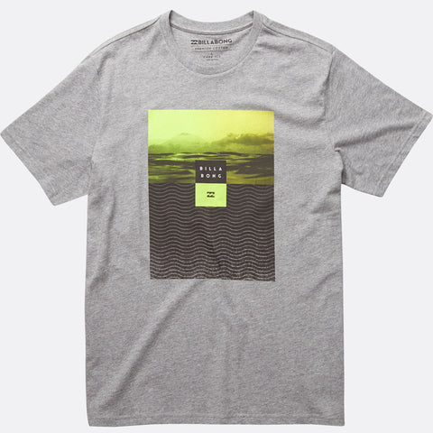 Billabong Witness T-shirt - Grey Heather - Surf' in Monkeys School & Shop