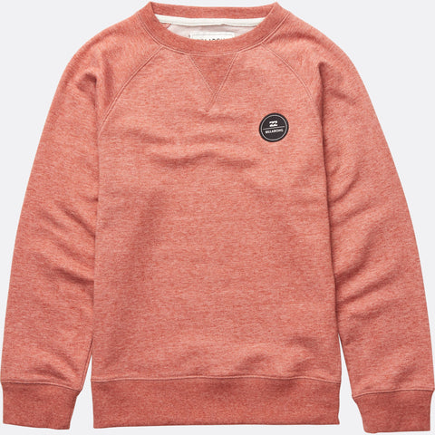 Billabong All Day Crew - Red Clay - Surf' in Monkeys School & Shop