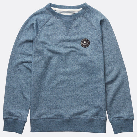Billabong All Day Crew - Slateblue - Surf' in Monkeys School & Shop