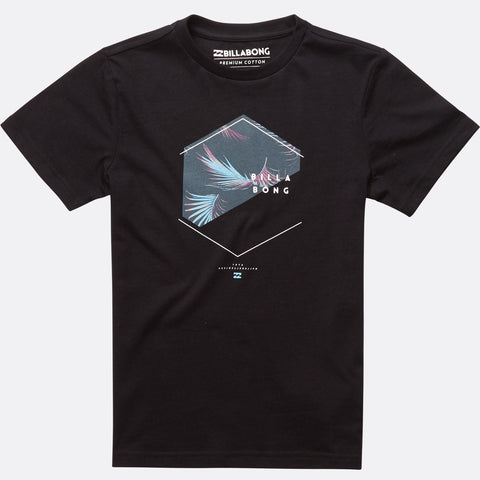 Billabong Enter Short Sleeve Tee Boys - Black - Surf' in Monkeys School & Shop