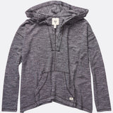 Billabong Wound UP Poncho Hoodie - Black/White - Surf' in Monkeys School & Shop