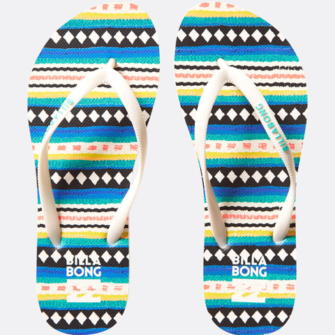 Billabong Dama Sandals - Stripes - Surf' in Monkeys School & Shop