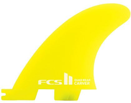 FCS II Carver Neo Glass Quad Rear Set - Surf' in Monkeys School & Shop