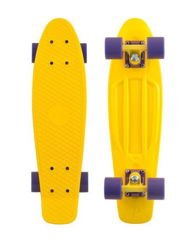 "Penny Skateboards Yellow 22"" - Surf' in Monkeys School & Shop"