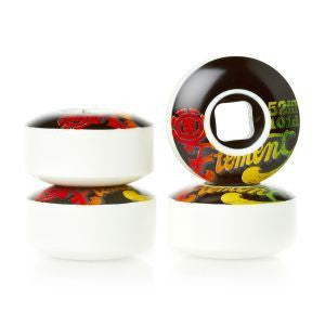 Element Ashbury Logo Skateboard Wheels 52mm - Surf' in Monkeys School & Shop