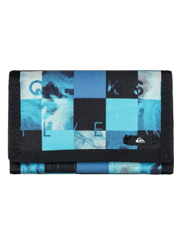 Quiksilver On Board Wallet - BP Random QS Dark Shadow - Black/Grey/Brown - Surf' in Monkeys School & Shop