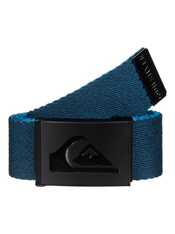Quiksilver Double Revo Belt - Blue - Brown - Surf' in Monkeys School & Shop