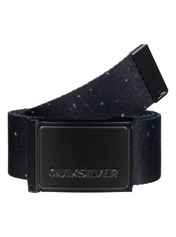 Quiksilver Options Belt - Black - Surf' in Monkeys School & Shop