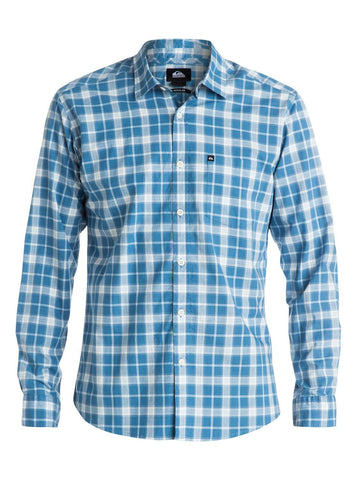 Quiksilver Everyday Check Long Sleeve Shirt - Anthracite - Surf' in Monkeys School & Shop
