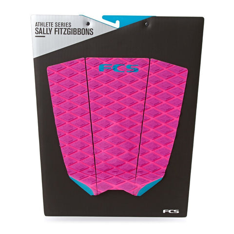 FCS Fitzgibbon Grip Pad - Purple/Bright Pink - Surf' in Monkeys School & Shop