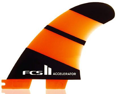 FCS II Accelerator Neo Glass Tri Surf Fin Set - Surf' in Monkeys School & Shop