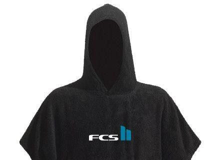 FCS Poncho and Towels - Black - Surf' in Monkeys School & Shop