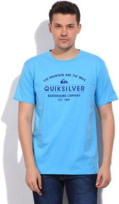 Quiksilver Round Neck - Blue - Surf' in Monkeys School & Shop