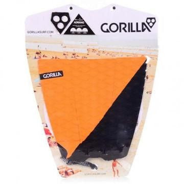 Gorilla Campaign Surfboard Tail Pad - Orange/Black - Surf' in Monkeys School & Shop
