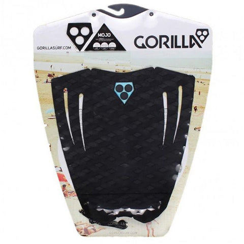 Gorilla Mojo Surfboard Tail Pad- Black - Surf' in Monkeys School & Shop