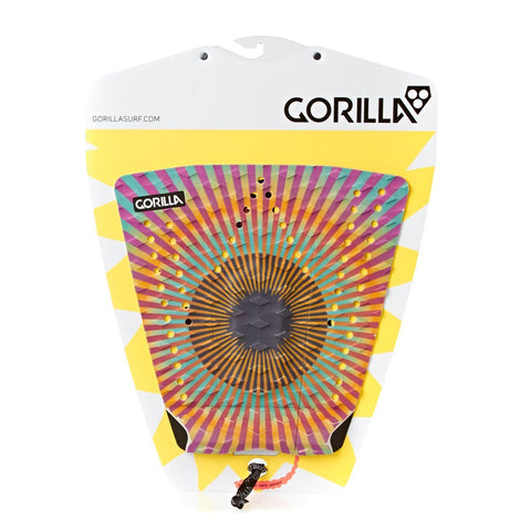 Gorilla Wilko Surfboard Tail Pad - Tie Dye - Surf' in Monkeys School & Shop