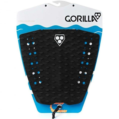 Gorilla Phat Three Surfboard Tail Pad - Black - Surf' in Monkeys School & Shop