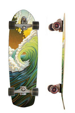 "Carver Skateboards 34"" Green Room - Surf' in Monkeys School & Shop"