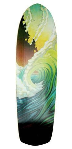 "Carver 34"" Greenroom Deck - Surf' in Monkeys School & Shop"