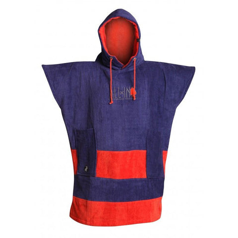 All In Surf Poncho Little Dragon Junior - Blue/ Red - Surf' in Monkeys School & Shop