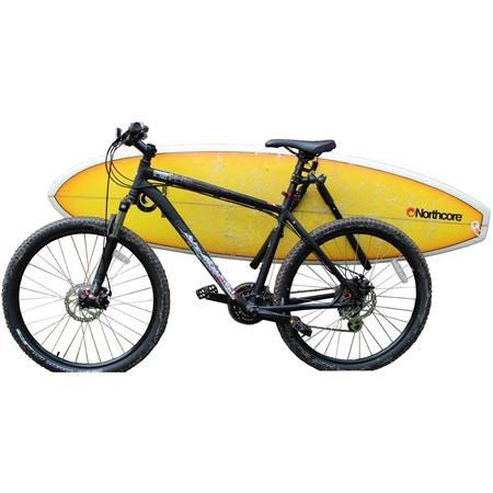 "Northcore ""Lowrider"" Bicycle Surfboard Carry Rack - Surf' in Monkeys School & Shop"
