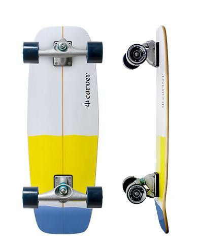 "Carver Skateboards 27.5"" Mini Simmons - Surf' in Monkeys School & Shop"