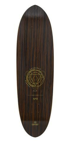 "Carver 35.5"" Haedron No. 9 Deck - Surf' in Monkeys School & Shop"