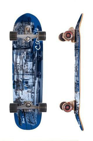"Carver Skateboards 36"" Venice Blue - Surf' in Monkeys School & Shop"