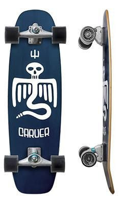 "Carver Skateboards 33.75"" Point Break - Surf' in Monkeys School & Shop"