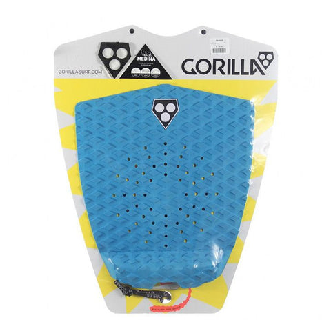 Gorilla Medina Sea Surfboard Tail Pad - Blue - Surf' in Monkeys School & Shop