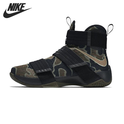Nike Men's Camouflage Basketball Sneakers - Surf' in Monkeys School & Shop