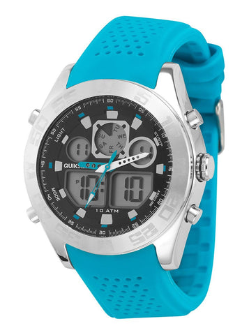 Quiksilver Analog The Fifty 50 Men´s Watch - Blue - Surf' in Monkeys School & Shop