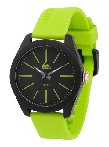 Quiksilver Analog The Young Gun Men´s Watch - Green/Black - Black/Blue - Surf' in Monkeys School & Shop