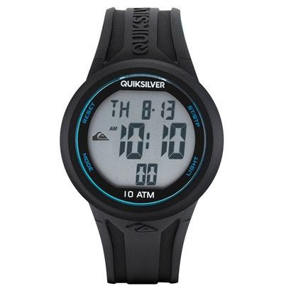 Quiksilver Digital The Barrel Men´s Watch - Black/Blue - Surf' in Monkeys School & Shop