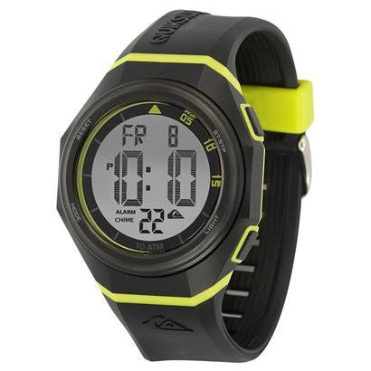 Quiksilver The Breaker Men's Watch  - Black/Yellow - Surf' in Monkeys School & Shop