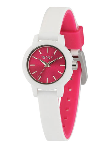 Roxy The Monica Women´s Analog Watch - White/Pink - Black - Surf' in Monkeys School & Shop